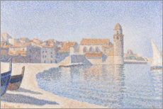 Gallery print  View of Collioure - Paul Signac