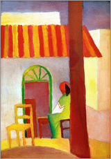Wall sticker  Turkish Cafe I - August Macke