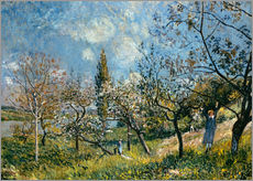 Wall sticker  Fruit Garden in Spring - Alfred Sisley