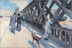 Wall sticker  On the Europabrücke - Gustave Caillebotte