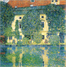 Premium poster  Schloss Kammer on the Attersee III - Gustav Klimt