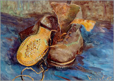 Wall sticker  The Shoes - Vincent van Gogh