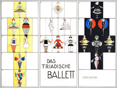 Wall sticker  Das triadische Ballett (German) - Oskar Schlemmer