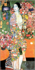 Foam board print  The dancer - Gustav Klimt