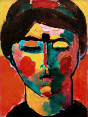 Canvas print  Romans head - Alexej von Jawlensky