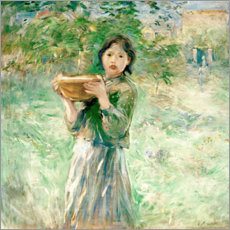 Wall sticker  The milk bowl - Berthe Morisot