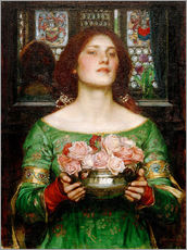 Wall sticker  Gather Rosebuds While May - John William Waterhouse