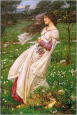 Gallery print  Windflowers - John William Waterhouse