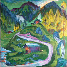 Gallery print  alpine life - Ernst Ludwig Kirchner