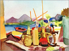 Wall sticker  Landscape near Hammamet - August Macke