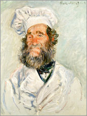 Gallery Print  The chef - Claude Monet