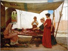 Gallery print  A Flower Stall - John William Waterhouse