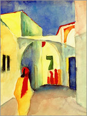 Wall Stickers  Alley in Tunis - August Macke