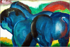 Franz Marc - Small Blue Horses