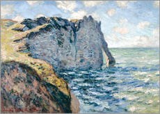 Wall Stickers  the manneport - Claude Monet