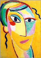 Wall sticker  Mystical head: G.2. - Alexej von Jawlensky