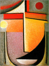 Gallery print  Abstract head: Morning light - Alexej von Jawlensky