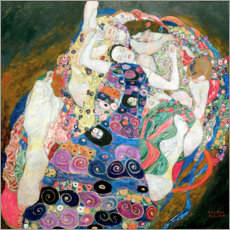 Premium poster  The Virgin - Gustav Klimt