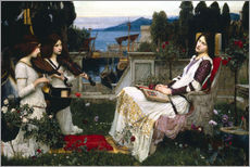 Wall sticker  Saint Cecilia - John William Waterhouse