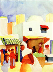 Wall sticker  Market in Tunis I - August Macke