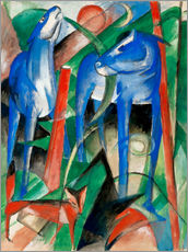 Franz Marc - Creation of the horses (three Fabeltiere)