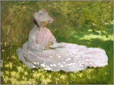 Gallery print  The Reader - Claude Monet