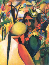 Wall sticker  American Indians - August Macke