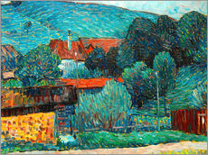 Gallery print  Moated castle, Wasserburg am Inn - Alexej von Jawlensky
