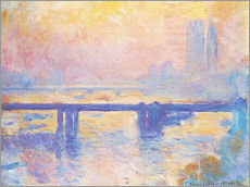 Gallery print  Charing Cross Bridge - Claude Monet