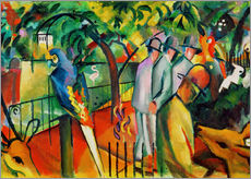 Wall sticker  Zoological garden - August Macke