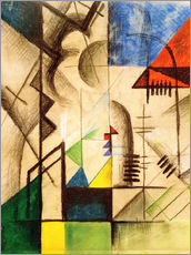 August Macke - Abstract Shapes