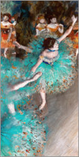 Gallery print  Green Dancers - Edgar Degas