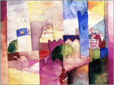 Wall sticker  Kairouan III - August Macke