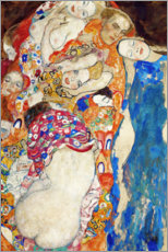 Foam board print  The bride - Gustav Klimt