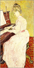 Gallery print  Marguerite Gachet at the piano - Vincent van Gogh