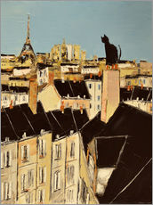 Gallery print  No scared of heights in Paris - JIEL