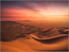 Wall Stickers  Desert Sunset - Andreas Wonisch