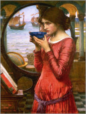 Wood print  Destiny - John William Waterhouse