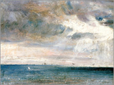 Gallery print  Study of sea and sky - John Constable