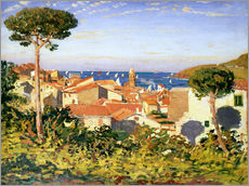 Gallery print  Collioure, 1911 - James Dickson Innes