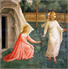 Wall sticker  Noli Me Tangere, 1442 - Fra Angelico