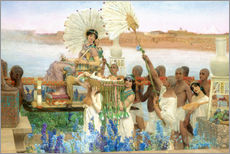 Gallery print  The Finding of Moses by Pharaoh's Daughter - Lawrence Alma-Tadema
