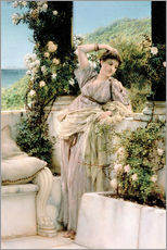Wall Sticker  Thou Rose of All the Roses - Lawrence Alma-Tadema