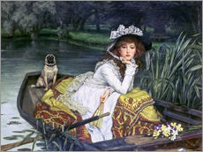 Gallery print  Reflections - James  Tissot