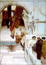Gallery print  An Audience at Agrippa's - Lawrence Alma-Tadema