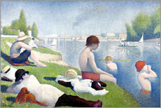 Wall sticker  Bathers at Asnières - Georges Seurat