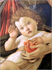 Gallery print  Christ Child from the Madonna of the Pomegranate - Sandro Botticelli