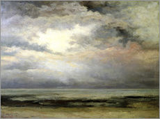 Wall sticker  The immensity - Gustave Courbet