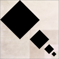 Wall sticker  Arithmetic composition - Theo van Doesburg