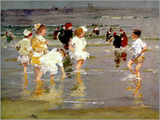Gallery print  Children on the Beach - Edward Henry Potthast